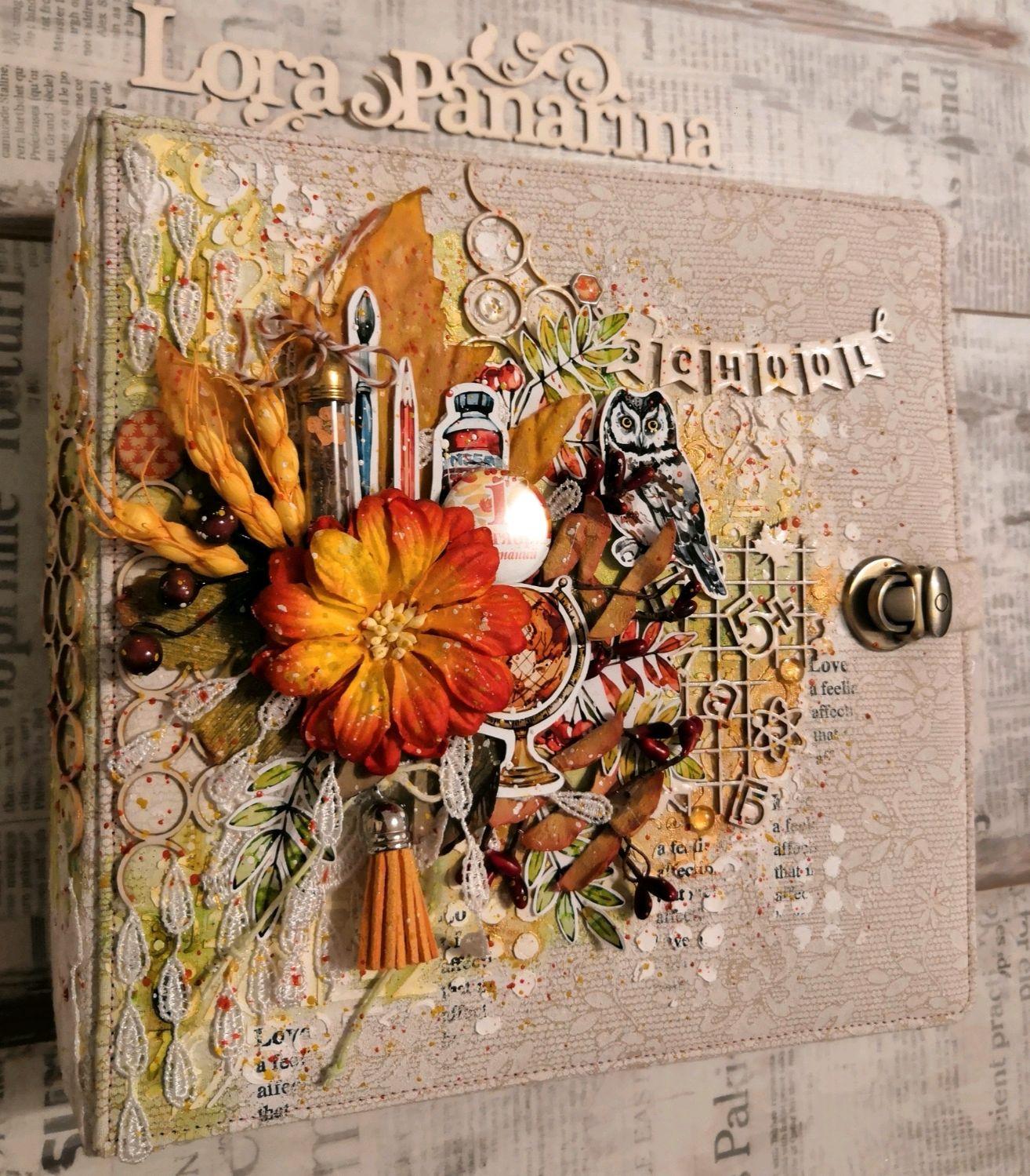 Школьный фотоальбом. Осенний альбом. Скрапбукинг, Фотоальбомы, Челябинск,  Фото №1