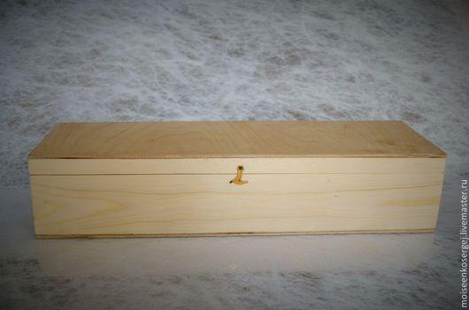 Упаковка ручной работы. Ярмарка Мастеров - ручная работа. Купить Коробка для куклы. Handmade. Желтый, деревянные заготовки, шкатулка для жекупажа