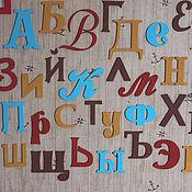 Для дома и интерьера ручной работы. Ярмарка Мастеров - ручная работа Алфавит в детскую. Handmade.