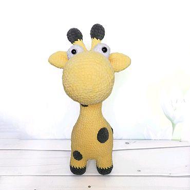 Куклы и игрушки ручной работы. Ярмарка Мастеров - ручная работа Жирафик лупоглазик. Handmade.