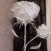 Для дома и интерьера manualidades. Livemaster - hecho a mano Lámpara de pie de rosa razbornyj. Handmade.