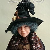 Куклы и игрушки handmade. Livemaster - original item Original interior doll