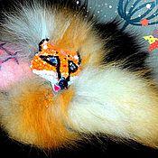 Украшения ручной работы. Ярмарка Мастеров - ручная работа Браслет из меха лисы Патрикеевна. Handmade.