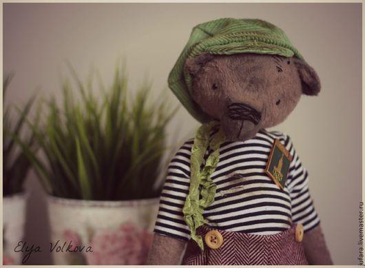 """Мишки Тедди ручной работы. Ярмарка Мастеров - ручная работа. Купить Павел  24см! Коллекция """"Мир! Труд! Май!"""". Handmade."""