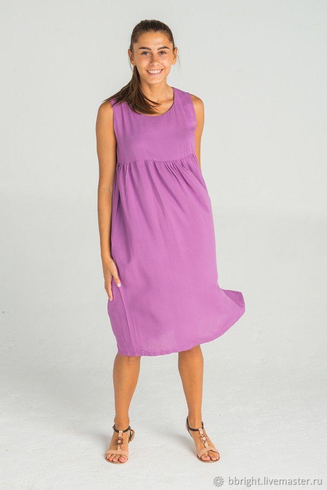 adeff7370f77 Dresses handmade. Livemaster - handmade. Buy Summer viscose dress  sleeveless.Summer dress ...