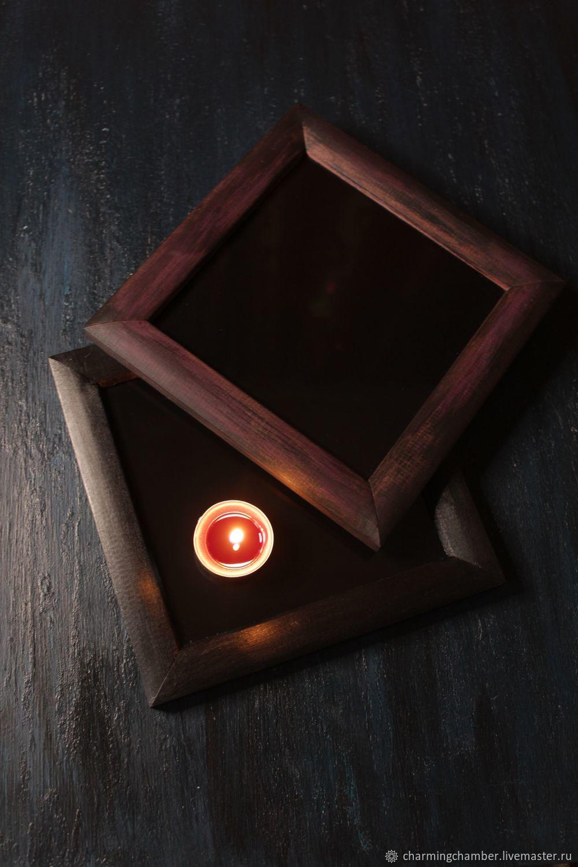 Магическое зеркало Квадрат, Ритуальная атрибутика, Новосибирск,  Фото №1