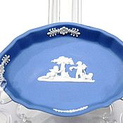 Винтаж handmade. Livemaster - original item Wedgwood Sponge China Plate England. Handmade.