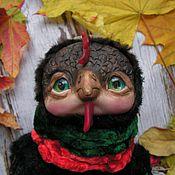 Куклы и игрушки ручной работы. Ярмарка Мастеров - ручная работа Черный Петушок - интерьерная игрушка. Handmade.
