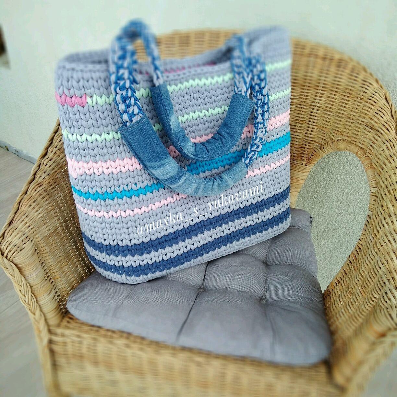 Пляжная сумка и рюкзак для пледа