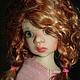 Коллекционные куклы ручной работы. Ярмарка Мастеров - ручная работа. Купить Парик для куклы. Handmade. Рыжий, бжд, волосы для кукол