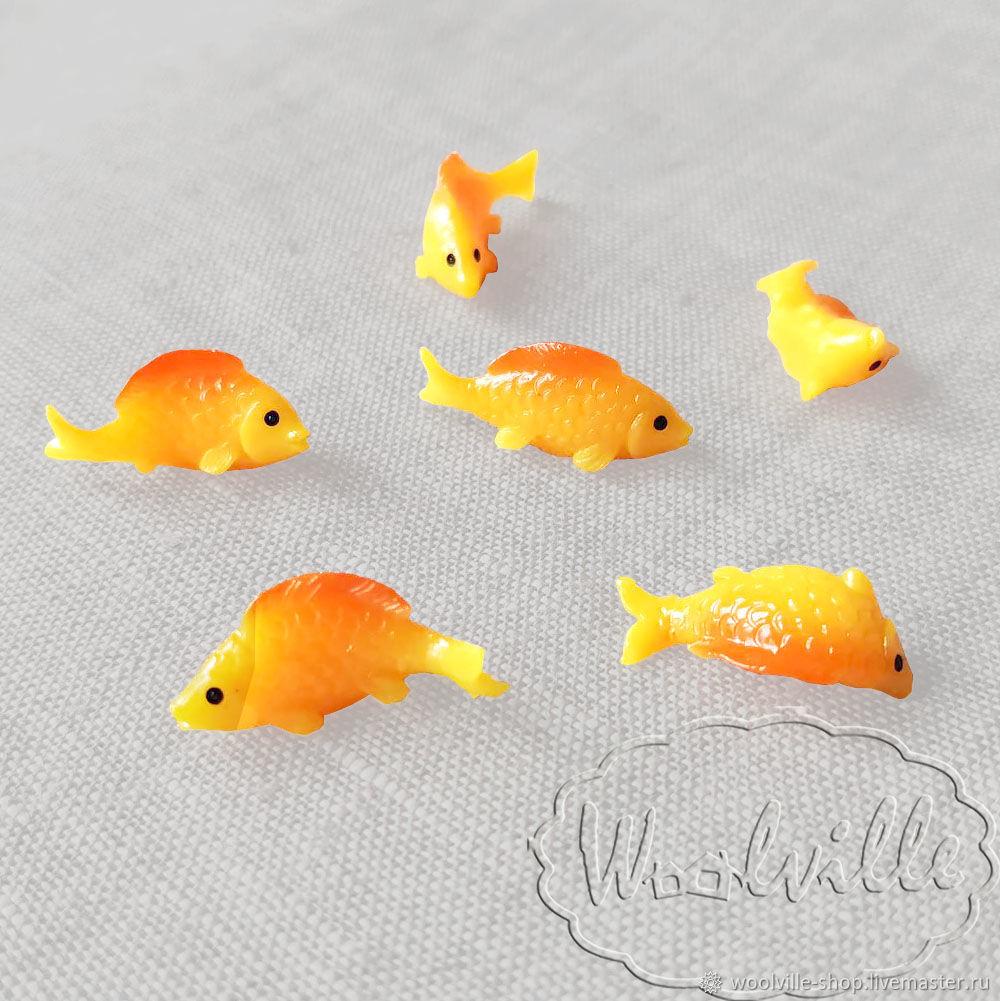 Кукольная миниатюра рыбка карась (для кукол и игрушек), Аксессуары для кукол и игрушек, Москва,  Фото №1