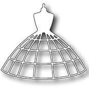 Материалы для творчества ручной работы. Ярмарка Мастеров - ручная работа Форма  98714  для Вырубки Bella Dress Form. Handmade.