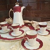 Посуда handmade. Livemaster - original item Services: Coffee and cocoa set. LIMOGES. France. Handmade.