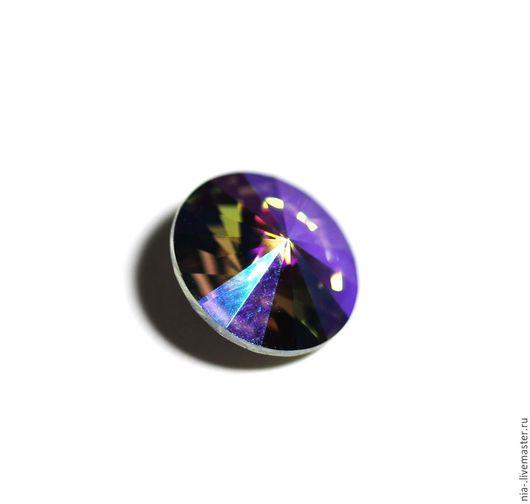 Для украшений ручной работы. Ярмарка Мастеров - ручная работа. Купить Риволи Сваровски 12 мм Paradise Shine Rivoli PS. Handmade.
