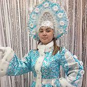 """Одежда ручной работы. Ярмарка Мастеров - ручная работа Костюм """"Снегурочка"""" 5. Handmade."""