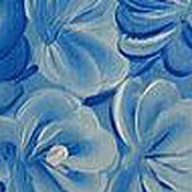 """Для дома и интерьера ручной работы. Ярмарка Мастеров - ручная работа Доска разделочная """"Гжель"""". Handmade."""
