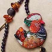 Украшения handmade. Livemaster - original item tangerine. Handmade.
