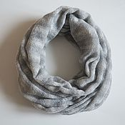 Аксессуары handmade. Livemaster - original item Snudy: Snood knitted in two turns. Handmade.