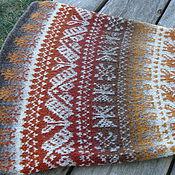 Одежда handmade. Livemaster - original item Skirt-Peruvian wool. Jacquard. Handmade.