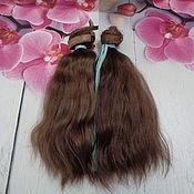 Волосы для кукол ручной работы. Ярмарка Мастеров - ручная работа Волосы для кукол: Материалы: Волосы для кукол. Handmade.