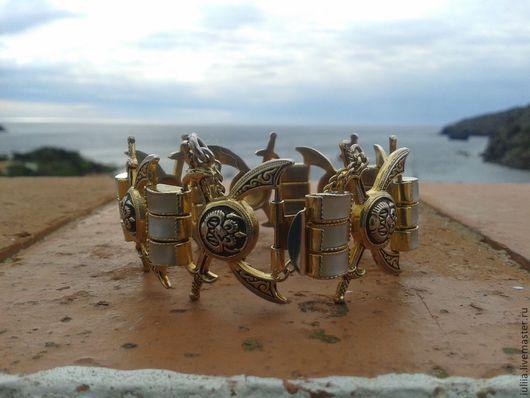 """Винтажная одежда и аксессуары. Ярмарка Мастеров - ручная работа. Купить испанский браслет """"Корсары"""". Handmade. Золотой, украшение, старинный"""