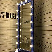 Для дома и интерьера ручной работы. Ярмарка Мастеров - ручная работа Гримерное зеркало BLUEBERRY.. Handmade.