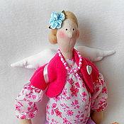 Куклы и игрушки ручной работы. Ярмарка Мастеров - ручная работа Беременная Тильдочка с сердечком. Handmade.