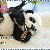 Материалы для творчества ручной работы. Ярмарка Мастеров - ручная работа Материалы для создания мишки панды. Handmade.