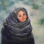 Картины и панно ручной работы. Ярмарка Мастеров - ручная работа Бабушкина шаль. Handmade.