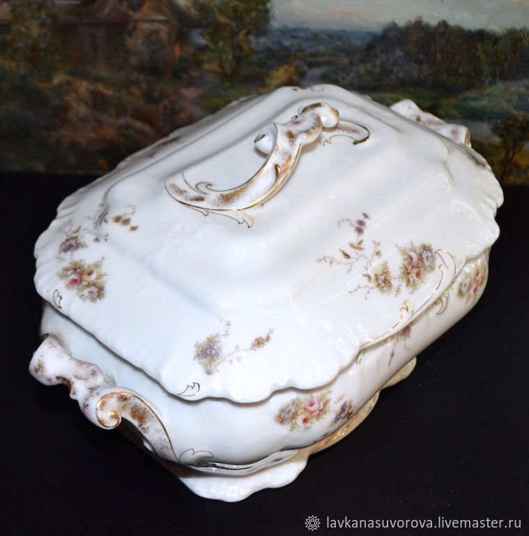 Big TYURINA porcelain Germany, Vintage kitchen utensils, Rostov-on-Don,  Фото №1