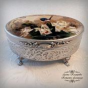 Для дома и интерьера handmade. Livemaster - original item Jewellery box