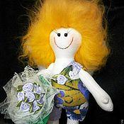 Куклы и игрушки ручной работы. Ярмарка Мастеров - ручная работа Текстильный ангелочек. Handmade.