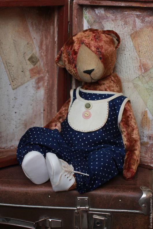 Мишки Тедди ручной работы. Ярмарка Мастеров - ручная работа. Купить Малыш. Handmade. Коричневый, плюш, шплинтовое соединение