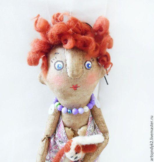 Ароматизированные куклы ручной работы. Ярмарка Мастеров - ручная работа. Купить Красотка. Handmade. Красотка, портретная, юмор, сувенир, корица