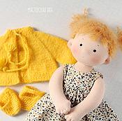 Куклы и игрушки ручной работы. Ярмарка Мастеров - ручная работа Солнечная Татошка, игровая текстильная кукла. Handmade.
