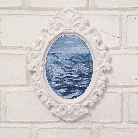 Пейзаж ручной работы. Ярмарка Мастеров - ручная работа. Купить Море. Handmade. Море, море живопись, море картина