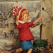 Подарки к праздникам ручной работы. Ярмарка Мастеров - ручная работа Ватная игрушка. Буратино.. Handmade.