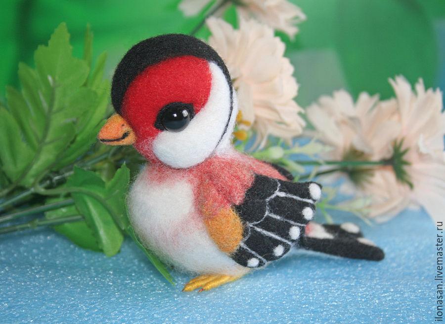 Щегол Шани (птичка игрушка), Мягкие игрушки, Владивосток,  Фото №1