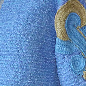 Одежда ручной работы. Ярмарка Мастеров - ручная работа Вязаный стильный жакет Серенити. Handmade.