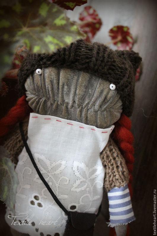 Куклы и игрушки ручной работы. Ярмарка Мастеров - ручная работа. Купить Sandra.... Handmade. Рыжий, монстр, существо, ирина сайфийдинова