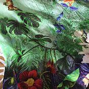 Материалы для творчества ручной работы. Ярмарка Мастеров - ручная работа Шелк. Handmade.