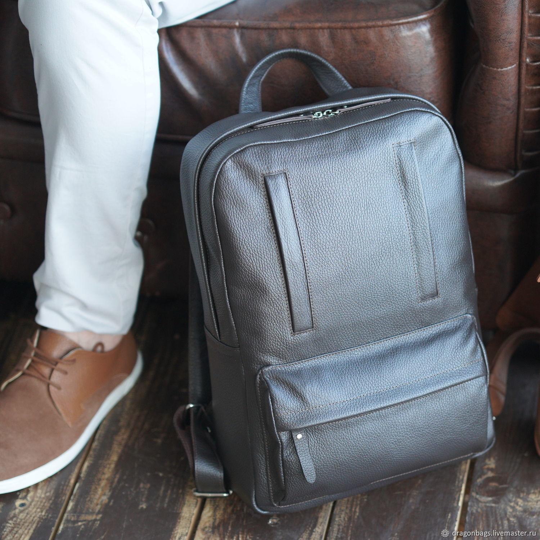 """Мужской кожаный рюкзак """"Salvador"""" (Коричневый), Рюкзаки, Ярославль,  Фото №1"""