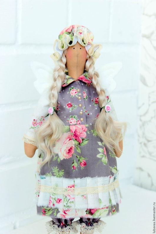 Куклы Тильды ручной работы. Ярмарка Мастеров - ручная работа. Купить Сонный ангел. Кукла интерьерная.. Handmade. Сонный ангел