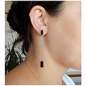 Украшения handmade. Livemaster - original item earrings minimalist. model №5.. Handmade.