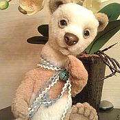 Куклы и игрушки ручной работы. Ярмарка Мастеров - ручная работа медвежонок Ландыш. Handmade.