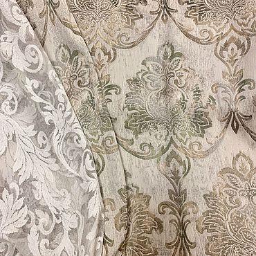 Текстиль ручной работы. Ярмарка Мастеров - ручная работа Шторы Винтажный Жаккард. Handmade.