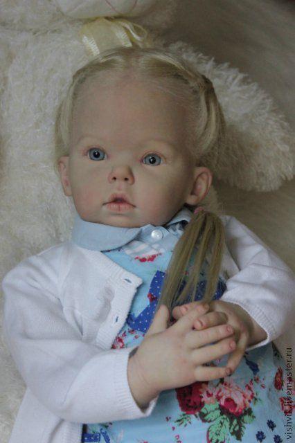 Куклы-младенцы и reborn ручной работы. Ярмарка Мастеров - ручная работа. Купить Тибби. Handmade. Кукла реборн, краски генезис