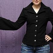 Одежда ручной работы. Ярмарка Мастеров - ручная работа Легкая курточка-жакет. Handmade.