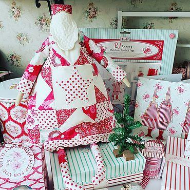 Куклы и игрушки ручной работы. Ярмарка Мастеров - ручная работа Тильда Санта. Handmade.