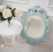 Для дома и интерьера ручной работы. Ярмарка Мастеров - ручная работа Стильное Винтажное зеркало в раме. Handmade.